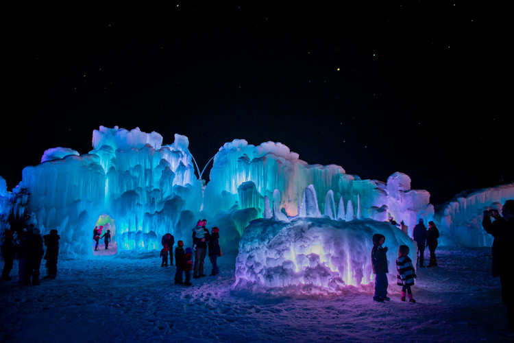 Here's How a Utah Company Turns Water into Enchanting Castles of Ice, © Vallor McNeely Courtesy of Ice Castles