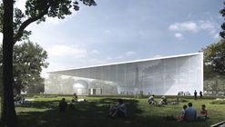 UNK project Wins Competition for Atomic Energy Pavilion in Moscow