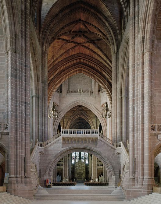 GB. England. Liverpool Cathedral.(Christ's). Image © Peter Marlow / Magnum Photos
