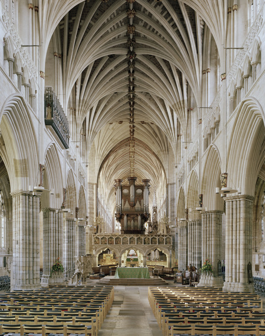 GB. England. Exeter Cathedral. (St Peter's). Image © Peter Marlow / Magnum Photos