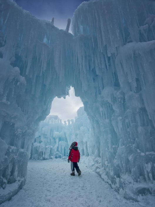 Here's How a Utah Company Turns Water into Enchanting Castles of Ice, © AJ Mellor Courtesy of Ice Castles