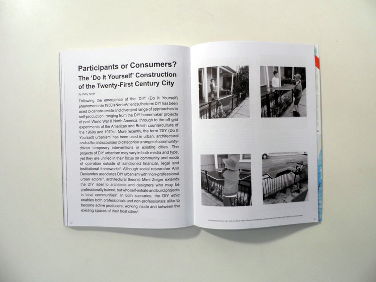"Spread from MONU Magazine #23: ""Participatory Urbanism"". Image Courtesy of MONU Magazine"
