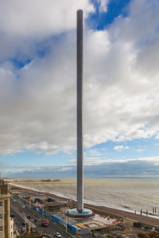 British Airways i360 Named Most Slender Tower In the World by Guinness World Record, Courtesy of British Airways i360