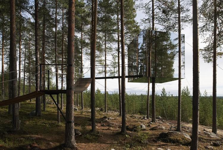 Tree Hotel / Tham & Videgård (Harads, Sweden). Image © Lindman Photography