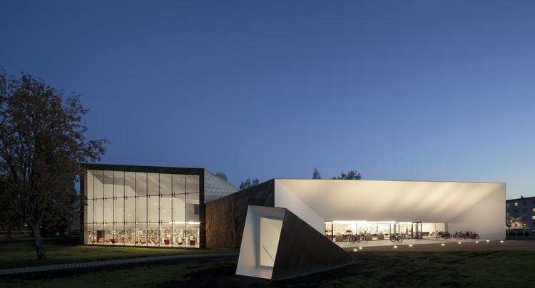 Seinäjoki City Library / JKMM Architects (Seinäjoki, Finland). Image © Tuomas Uusheimo