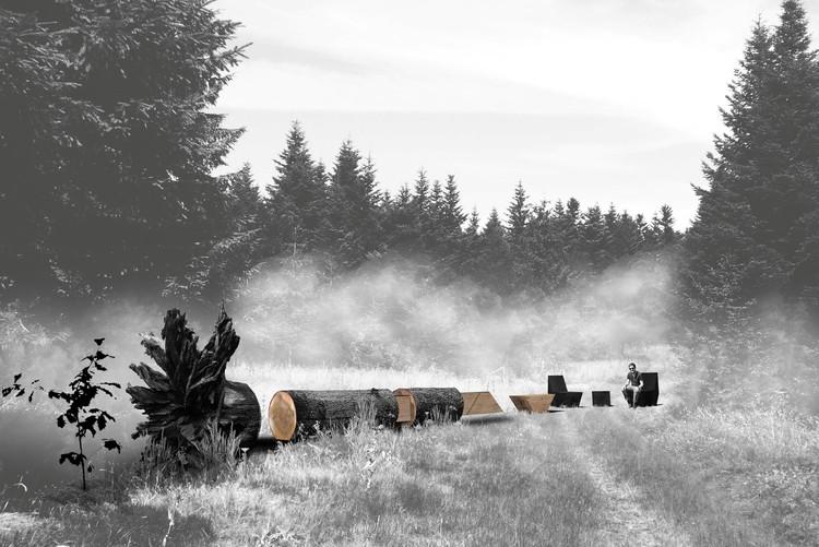 Carbone / Coache Lacaille Paysagistes [Maxime Coache, landscape architect, Victor Lacaille, landscape designer, Luc Dallanora, landscape architect], Nantes, France. Image© Coache Lacaille Paysagistes