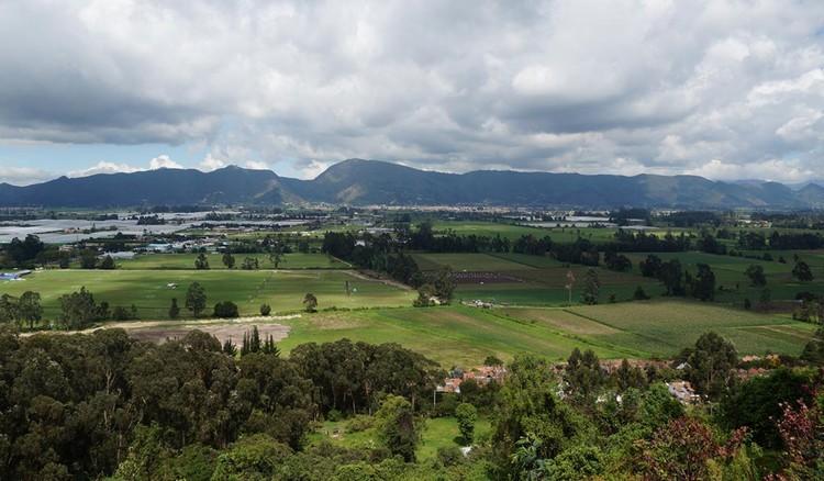 El futuro de la Reserva van der Hammen y la expansión urbana de Bogotá, Reserva forestal van der Hammen. Image vía @ElTiempo [Twitter]