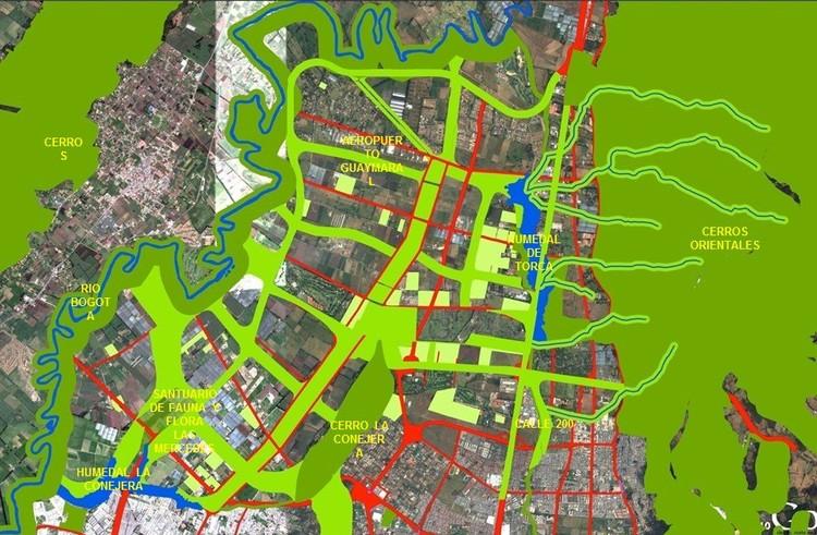 Propuesta de 'Ciudad Norte' publicada por Enrique Peñalosa en Twitter. Image vía @enriquepenalosa [Twitter]