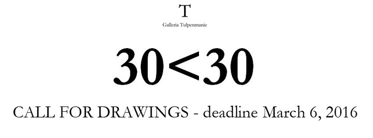 Call for Drawings: 30<30
