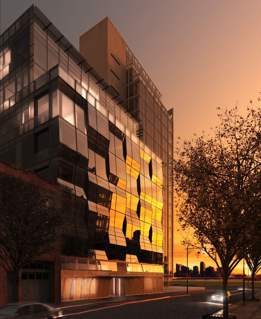 166 Perry Street Condominium, New York, 2006-10. Image Courtesy of Asymptote Architecture