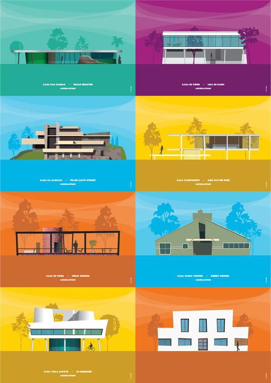 Archicartoon: Ilustraciones inspiradas en dibujos animados por Mário Rúbio, © Mário Rúbio
