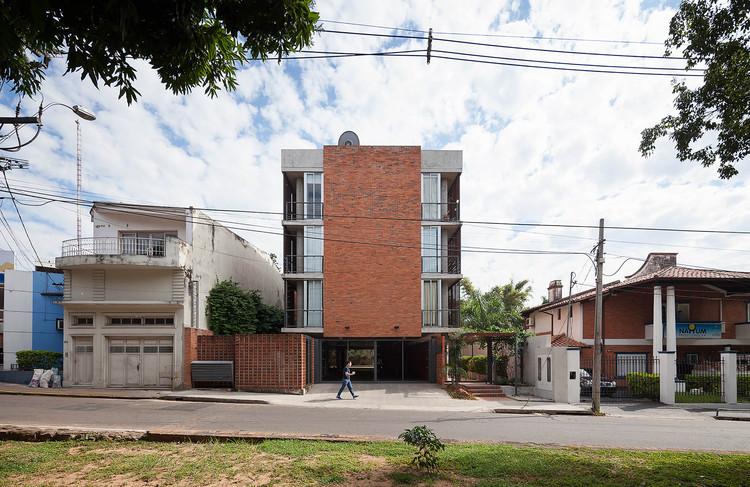 Rosas 121 Building / - = + x -, © Federico Cairoli