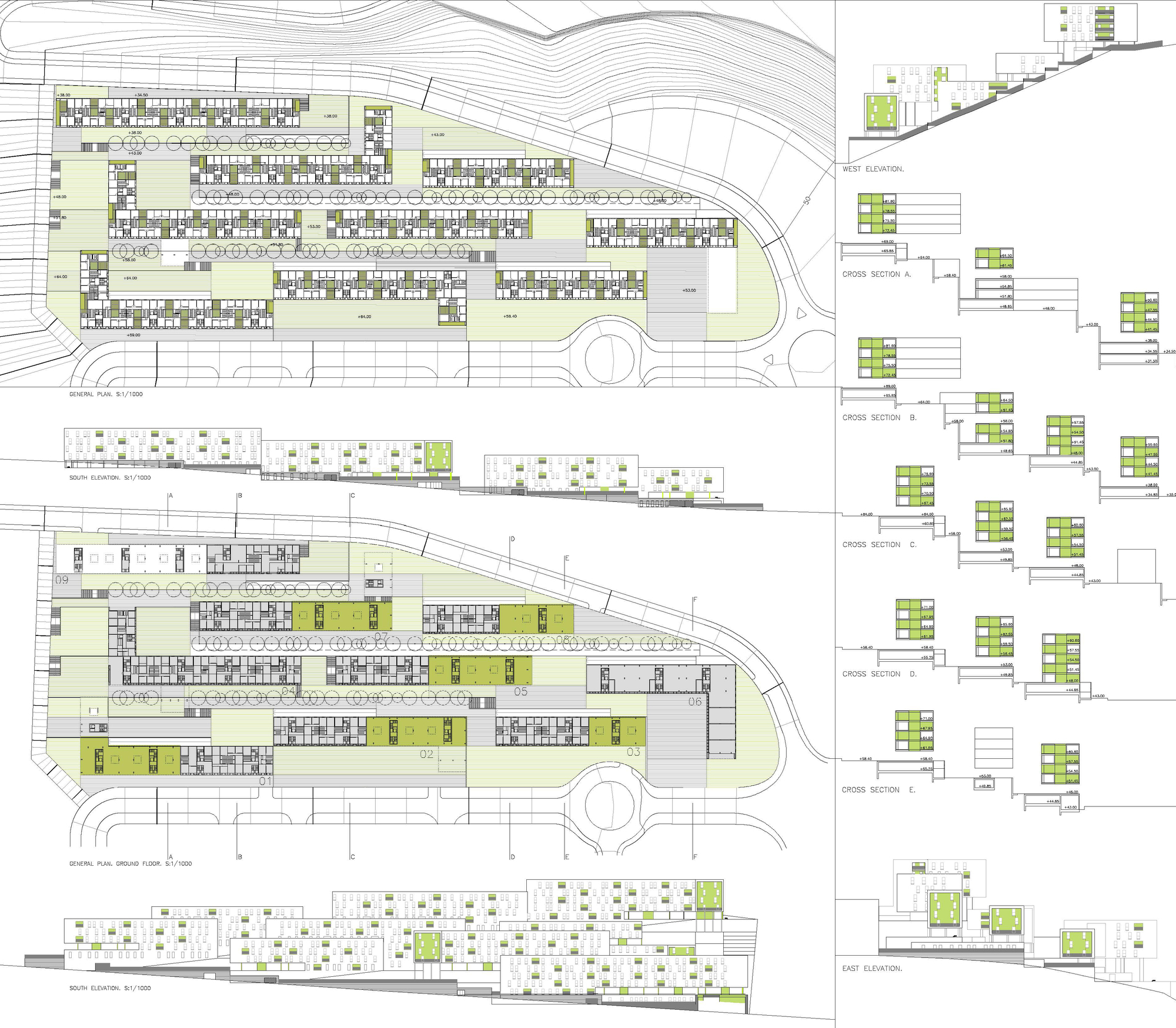 Gallery of 317 social housing units sv60 18 for Plan social