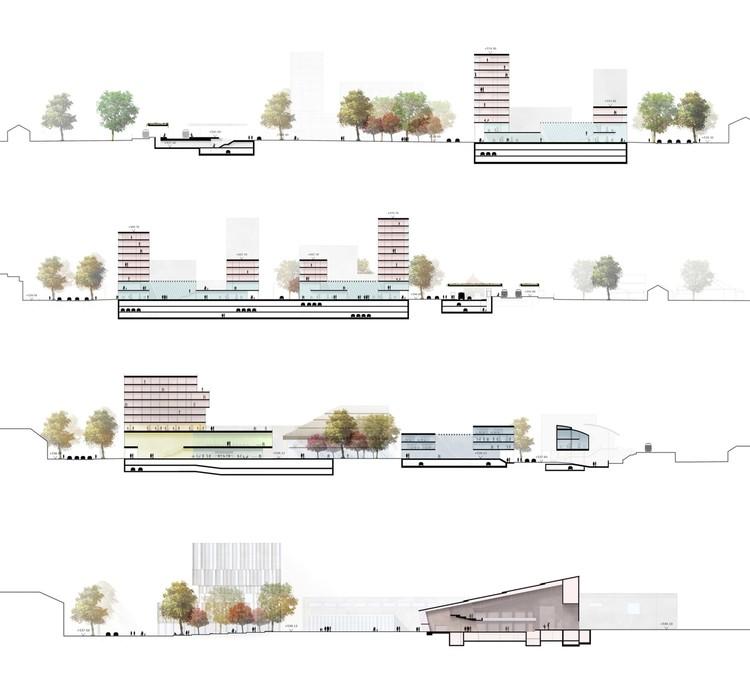 Corte/sección. Image Cortesía de bakpak architects