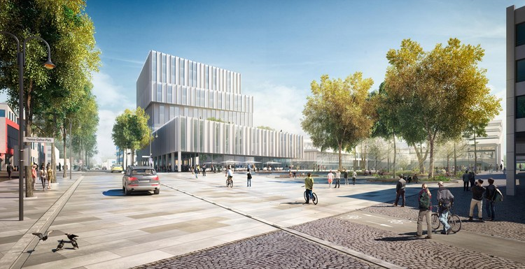 BAKPAK Architects gana concurso para diseñar plan maestro en Germering, Cortesía de bakpak architects