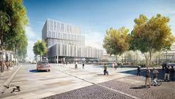 BAKPAK Architects gana concurso para diseñar plan maestro en Germering