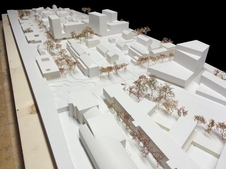 Maqueta. Image Cortesía de bakpak architects