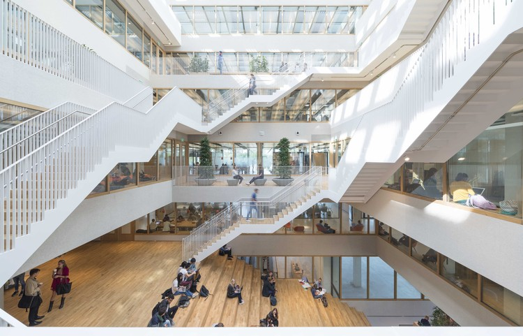 Erasmus University Rotterdam / Paul de Ruiter Architects, © Jeroen Musch