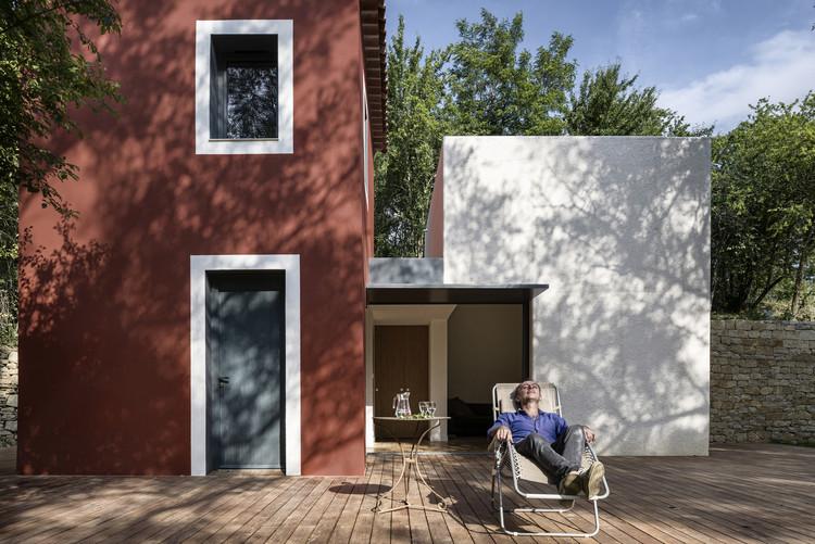 Rehabilitación de una Casa Rural / Cyril Chênebeau, © Aldo Amoretti A+A