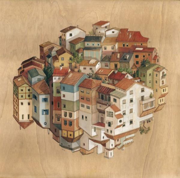 Pueblo. Image Cortesía de Cinta Vidal
