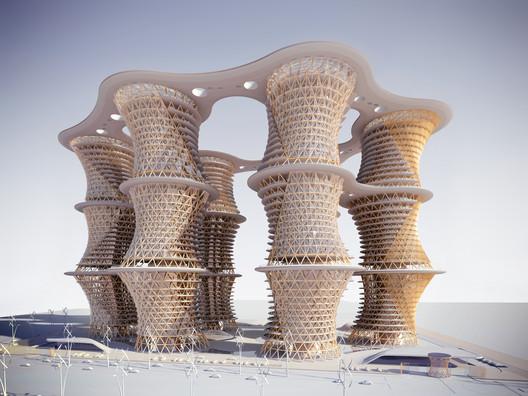 Cortesía de Vincent Callebaut Architectures