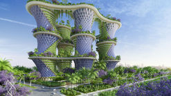 Vincent Callebaut's Hyperions Eco-Neighborhood Produces Energy in India