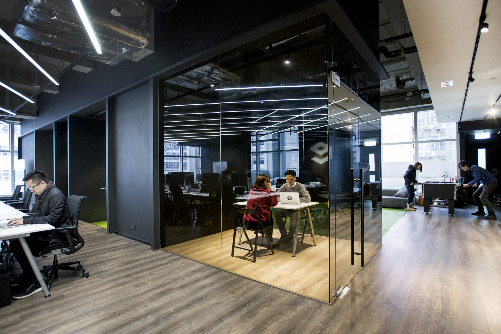 Gallery of 9gag office laab architects 10 for Woodworks design office 9