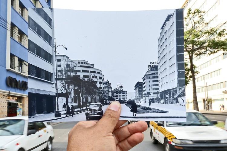 La arquitectura de Lima como testimonio: El proyecto fotográfico de Oscar Farje, Avenida Wilson. Image © Oscar Farje. Diario El Peruano