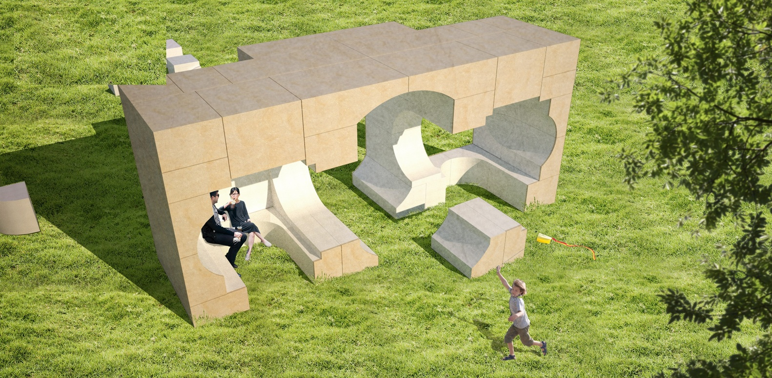 Super Gallery Of Bigs 2016 Serpentine Gallery Design Revealed Plus Largest Home Design Picture Inspirations Pitcheantrous