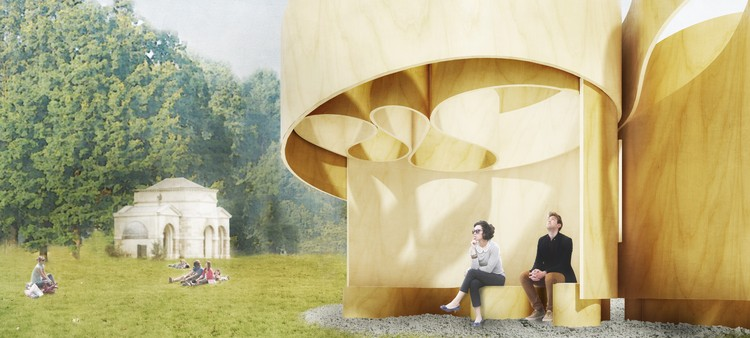 Summer house design by Barkow Leibinger. Image © Barkow Leibinger