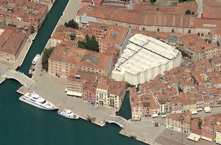 Venue: Palasport Arsenale Giobatta Gianquinto. Image Courtesy of Bing Maps