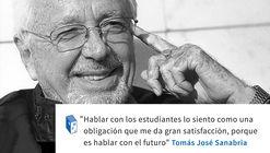Frases: Tomás José Sanabria y los estudiantes