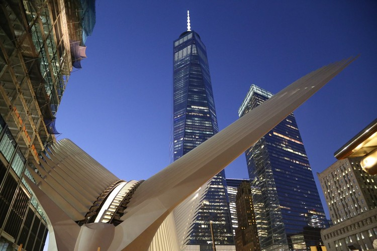 Santiago Calatrava's WTC Transportation Hub to Open Next Week, via WTC Progress