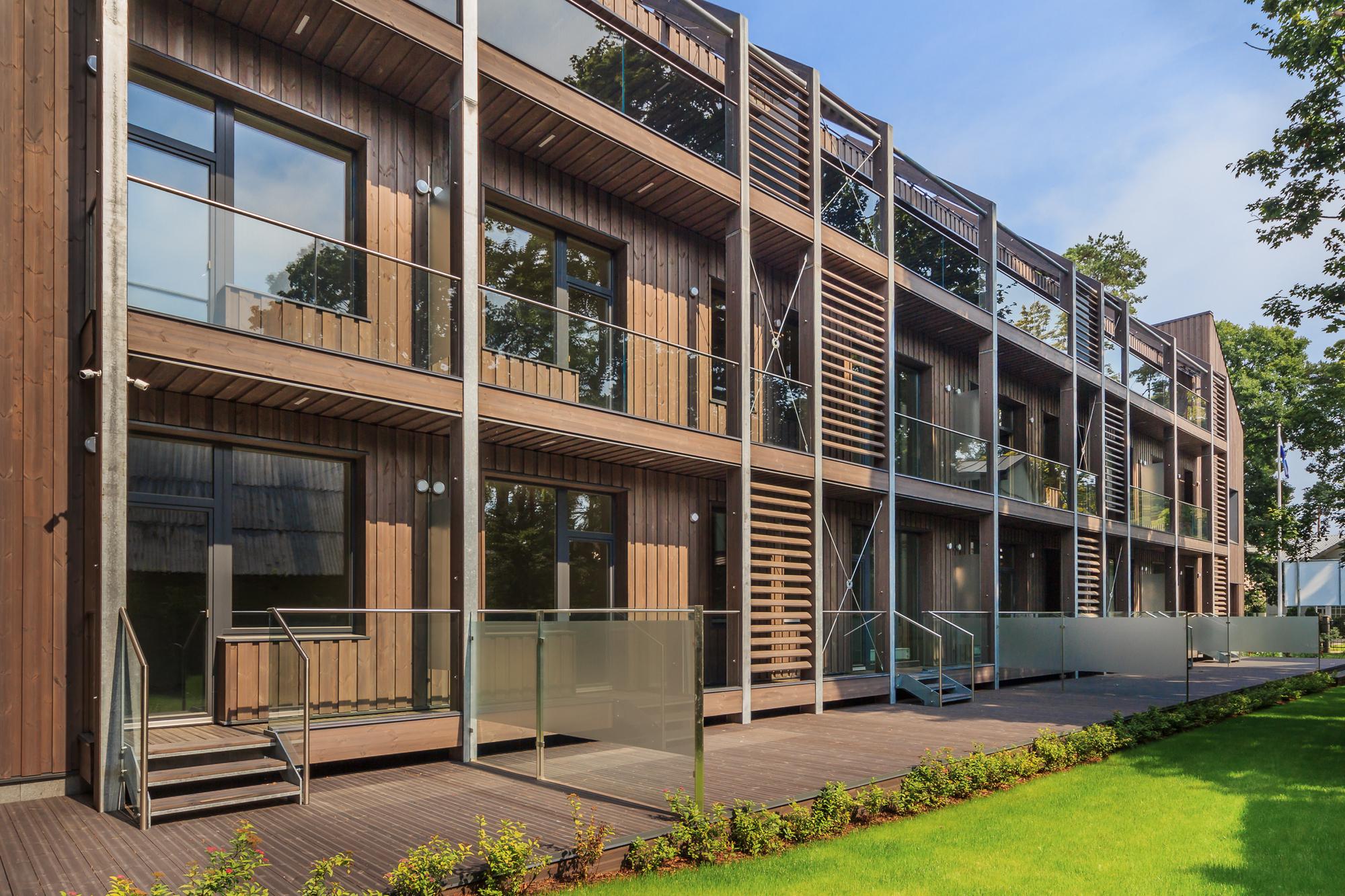 Gallery Of Erg 6 Apartment Building Arhitektu Birojs Mg Arhitekti 6