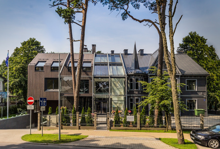 Erg 6 Apartment Building / Arhitektu Birojs MG Arhitekti, © Jānis Piņķis