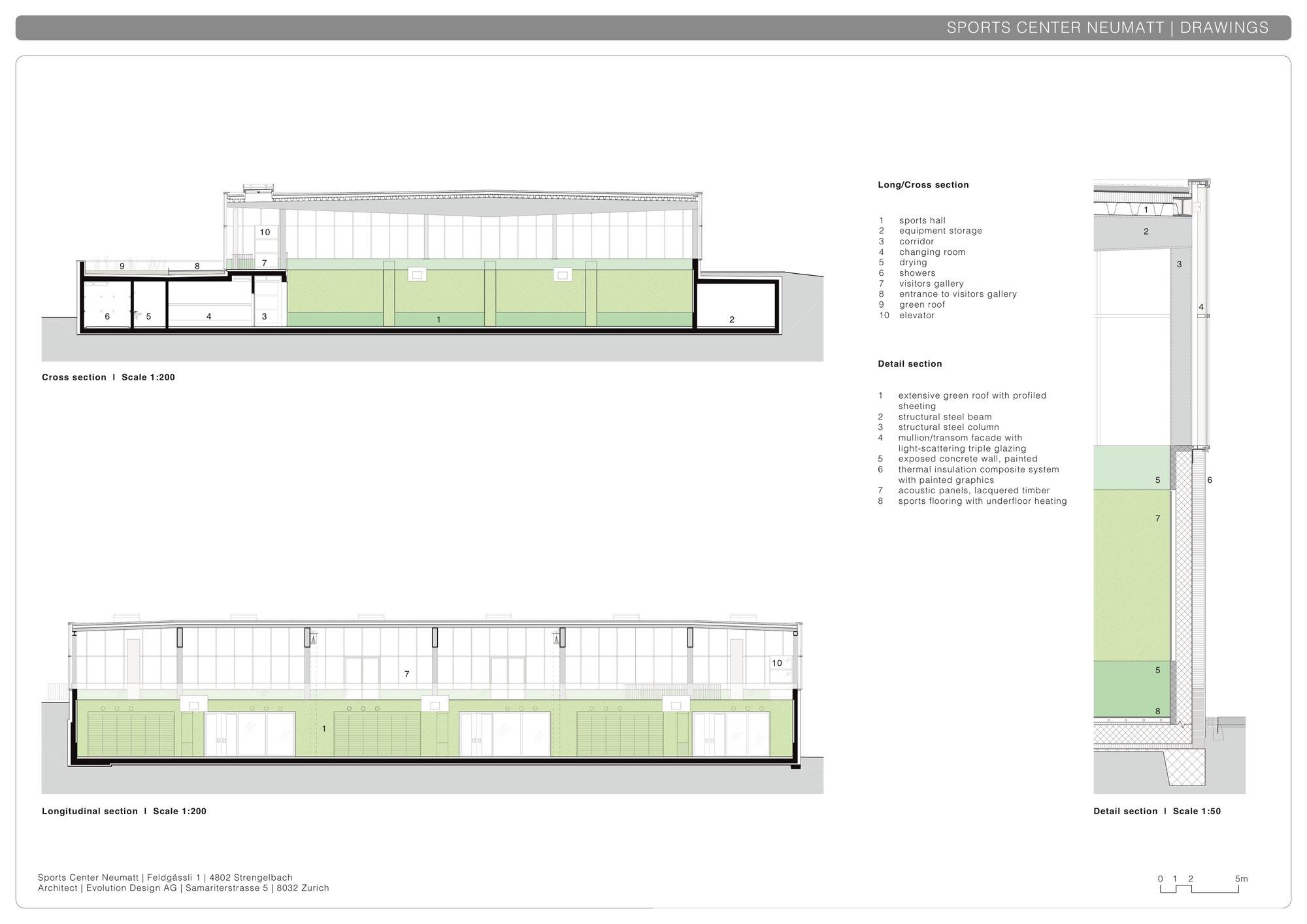 Green Roof Gallery Of Neumatt Sports Center Evolution Design 32