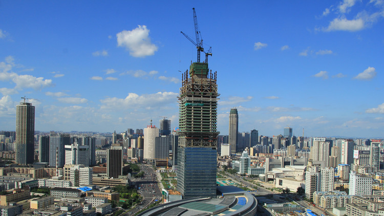China Construction Award: Hang Lung Plaza, Shanghai. Image via CTBUH