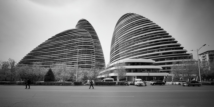 Best Tall Building China: Wangjing SOHO, Beijing / Zaha Hadid Architects. Image © Jan Martin