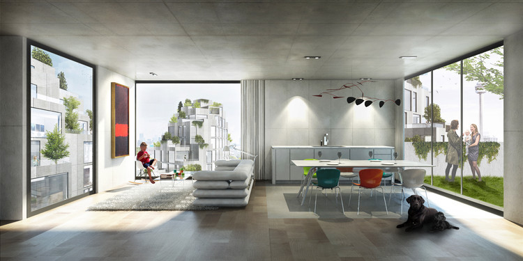 Interior. Imagen © BIG