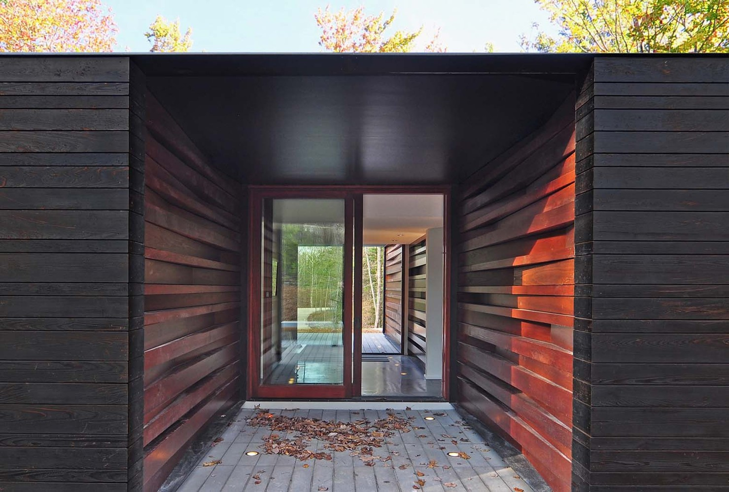 Pleated House,Courtesy of Johnsen Schmaling Architects