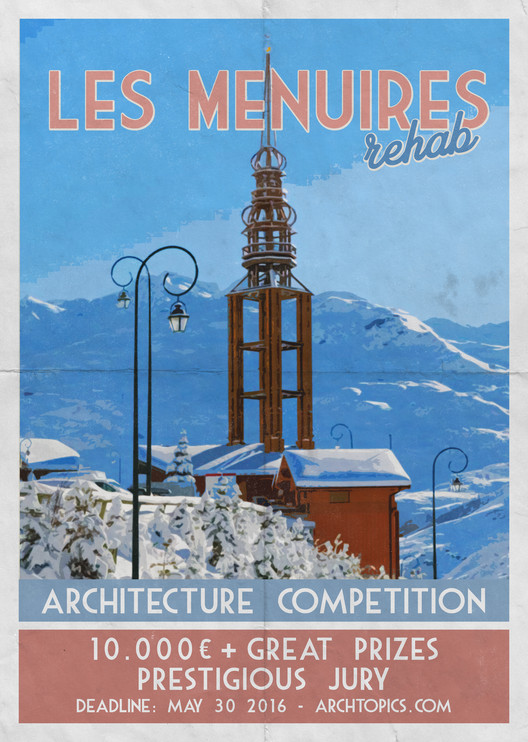 Call for Entries: Les Menuires Rehab Competition