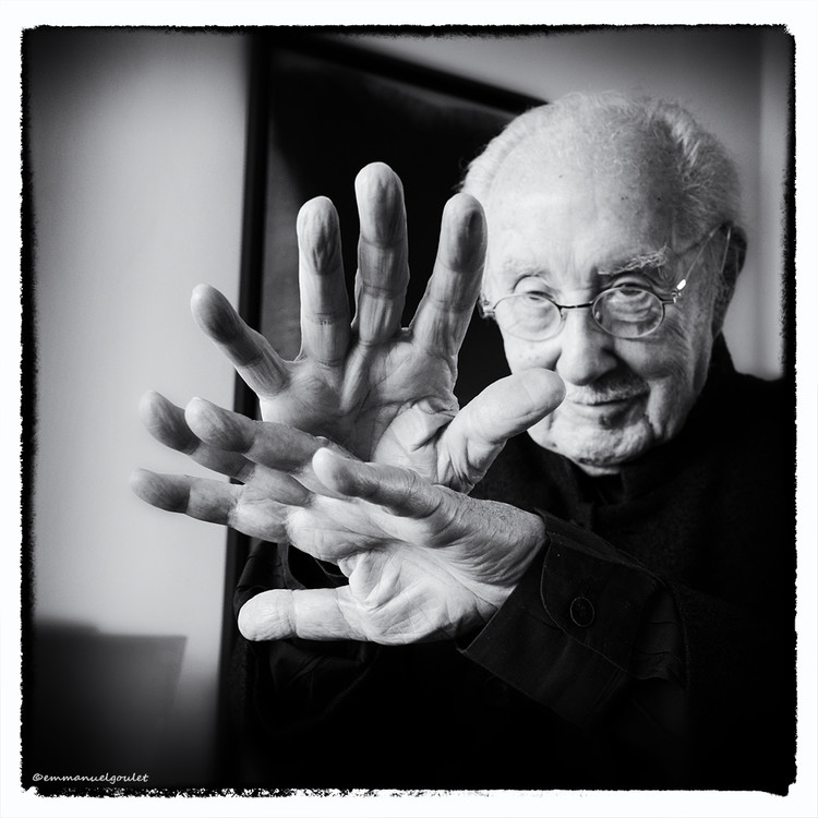 "French ""Utopian"" Architect Claude Parent Dies Aged 93, Claude Parent. Image © Emmanuel Goulet"