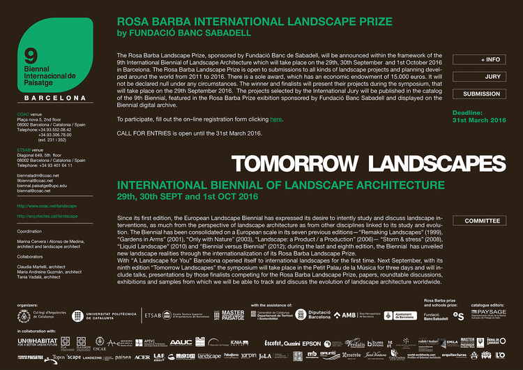 International Biennial of Landscape Architecture