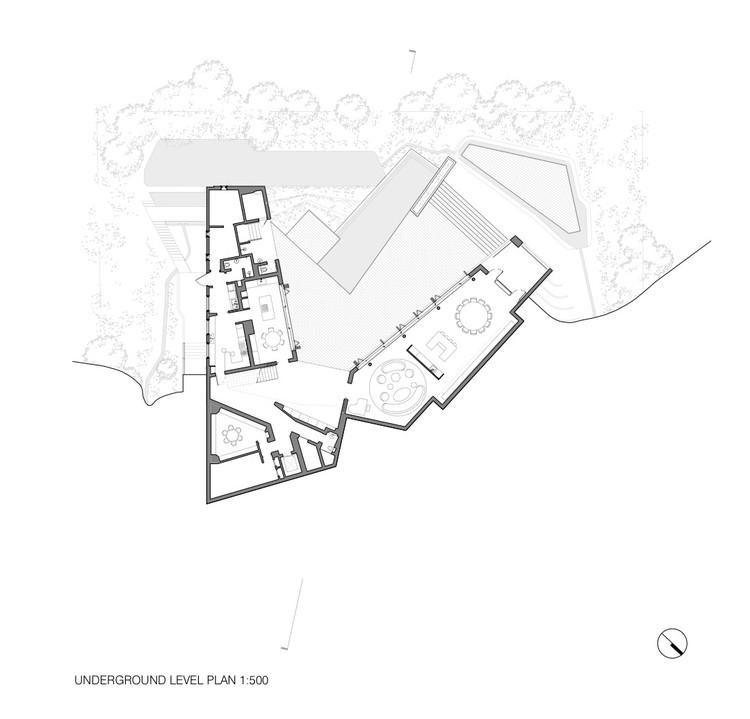 Underground Level Plan