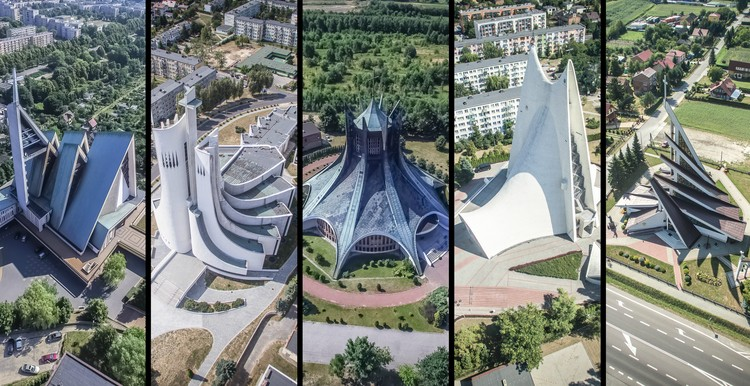 "These Churches Are the Unrecognized Architecture of Poland's Anti-Communist ""Solidarity"" Movement"