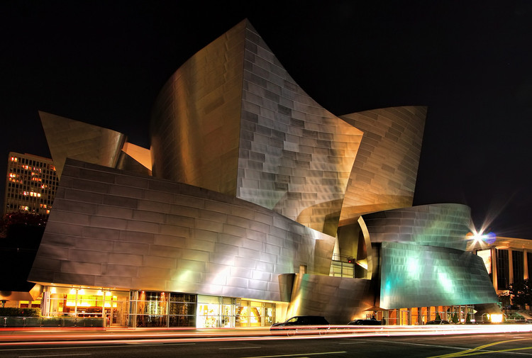 Frank Gehry Wins 2016 Annenberg Award, AD Classics: Walt Disney Concert Hall / Frank Gehry. Image © Dave Toussaint