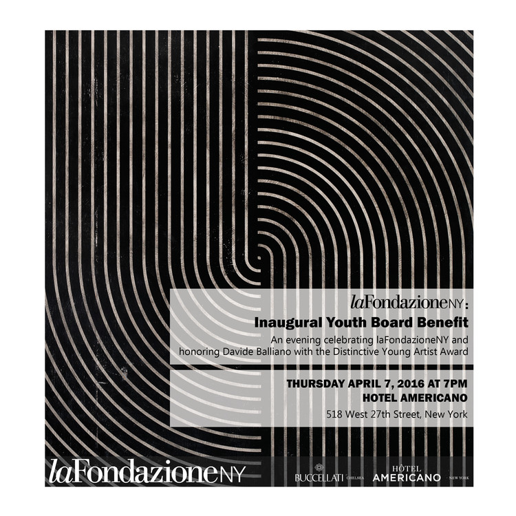 La Fondazione NY Inaugural Youth Board Benefit