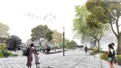 Primer lugar en concurso de remodelación de Plaza Portugal en Montevideo