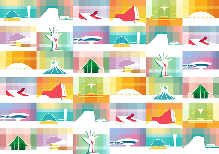 Petterson Dantas' Illustrations Are a Colorful Ode to Oscar Niemeyer, © Petterson Dantas