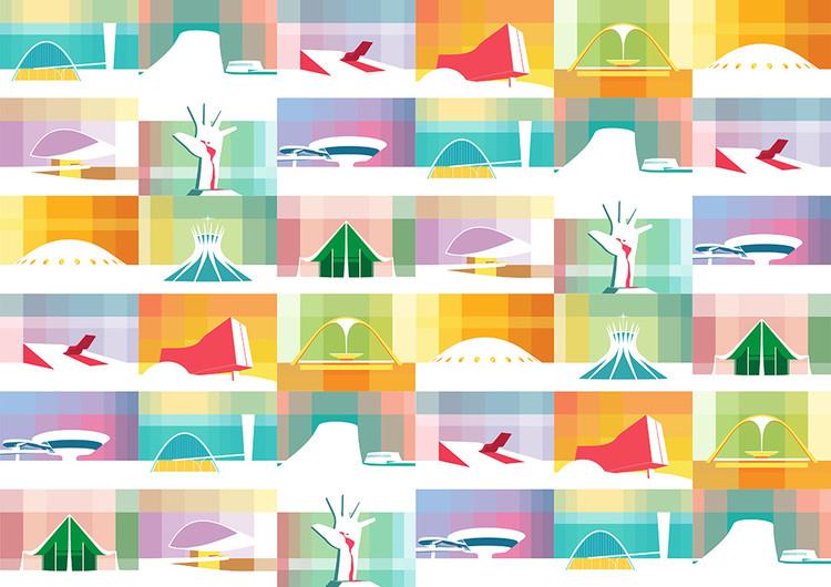 Las grandes obras de Óscar Niemeyer ilustradas por Petterson Dantas, © Petterson Dantas
